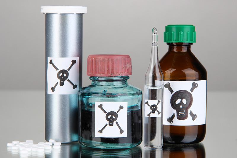 Aliments ou produits toxiques pour les animaux
